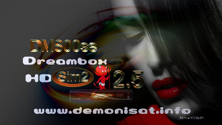 DDDemon 2.5 Backup dm800se Sunray4/SR4 by maumixio