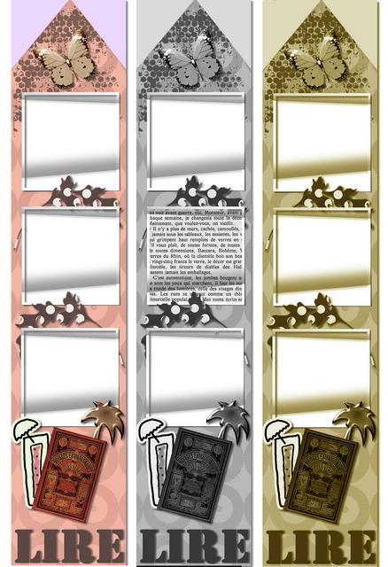les marque pages de marie th scrap 13 19 cm les cadeaux de marie th scrap. Black Bedroom Furniture Sets. Home Design Ideas