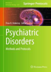 Psychiatric disorders: methods and protocols