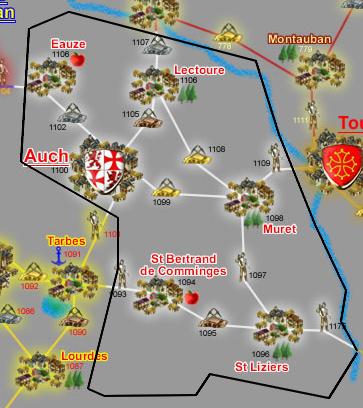 Armagnac et Comminges (R.F.) (Informations et Traités)... Cartecomminges-348a8ba